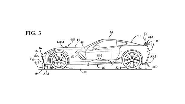 GM พัฒนาระบบแอโรไดนามิก ปรับชิ้นส่วนแบบเรียลไทม์ตามความสูงของรถ