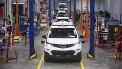 GM ผลิต Chevrolet Bolt ขับขี่อัตโนมัติกว่าร้อยคันเพื่อทดสอบจริง