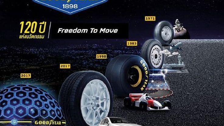 [PR News] กู๊ดเยียร์ฉลอง 120 ปี แห่งนวัตกรรม