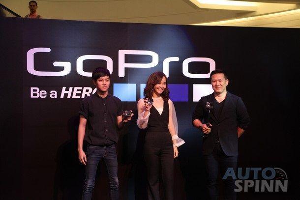 GoPro Hero 4 กล้อง Action Cam ใหม่ มาพร้อม 3 รุ่น 3 สไตล์  Black, Silver และ Hero