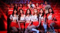 สองนักแข่งจากดูคาติร่วมฉลองความยิ่งใหญ่ในวันเปิดตัวโชว์รูมดูคาติบุรีรัมย์