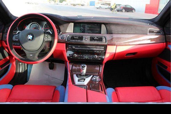 เสียของ? BMW M5 แต่งภายในสุดประหลาดตาโดย Hamann