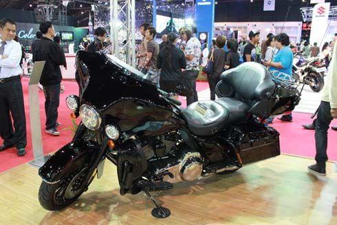 บุกซุ้ม Harley-Davidson ที่งาน 2011 Bangkok International Motor Show