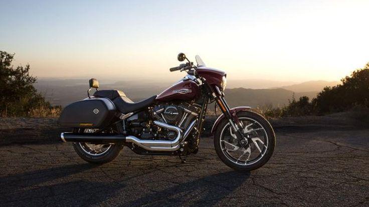 Eicma2017: Harley-Davidson Sport Glide Softail หนึ่งในร้อยรถรุ่นใหม่ของค่ายตราโล่