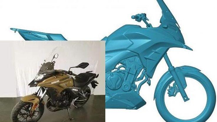 เป๊ะอะ Hengjian HJ500-3 ลอกแบบ Honda CB500X ทั้งดุ้น