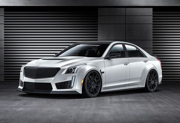 Hennessey เตรียมปั้น Cadillac CTS-V ให้เป็นรถสี่ประตูที่เร็วที่สุดในโลก