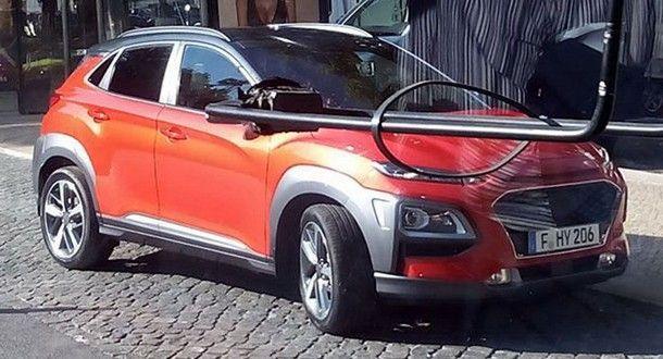 แอบถ่าย Hyundai Kona ว่าที่รถครอสโอเวอร์ขนาดเล็กรุ่นใหม่จากแดนโสม