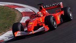 รถแข่งสูตรหนึ่ง Ferrari F2001 ของมิชาเอล ชูมัคเกอร์ ประมูลเกือบ 250 ล้านบาท