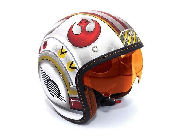 เอาไตผมไป!! HJC Luke Skywalker X-Wing Helmet หมวกกันน็อคสุดแนวจากมหากาพย์ Star Wars