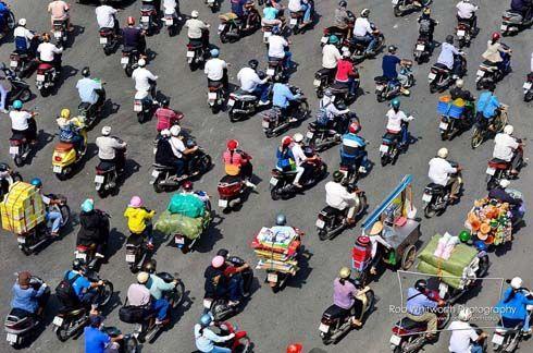 เวียดนามวันนี้ กับการสัญจรโดยมอเตอร์ไซค์ที่น่าทึ่ง ในเมืองใหญ่อย่างโฮจิมินห์ซิตี้