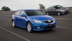 เผยโฉม Holden/Chevrolet Cruze Series II Sedan ปี 2011 มากับเครื่องยนต์ทางเลือกใหม่