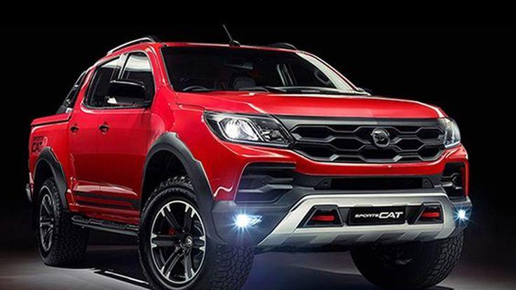ยลโฉม Holden Colorado SportsCat คู่แข่ง Ford Ranger Raptor
