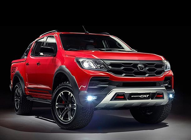 ยลโฉม Holden Colorado SportsCat คู่แข่ง Ford Ranger Raptor