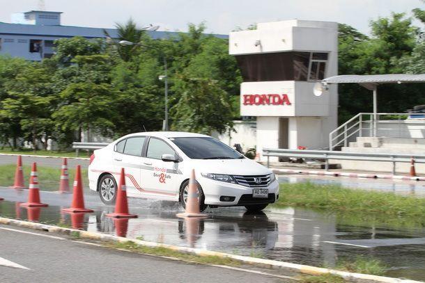"""Honda ร่วมกับสถานีวิทยุจราจรเพื่อสังคม   จัดโครงการ """"TRS เครือข่ายจราจรอุ่นใจ ขับขี่ปลอดภัยกับ Honda"""""""