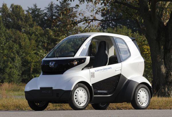 จิ๋วแต่แจ๋ว Honda MC-β รถพลังไฟฟ้าหน้าตาเหมือนรถกอล์ฟ