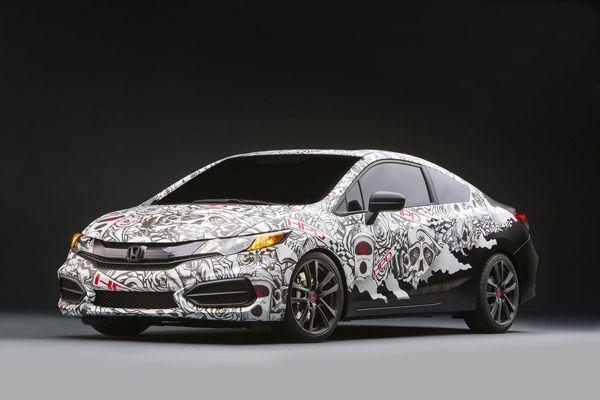 Honda ติดซูเปอร์ชาร์จให้ CR-Z พร้อมแต่ง Civic เวอร์ชั่น Street Performance