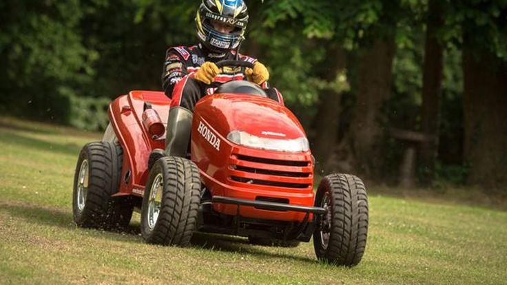 "Honda จับมือ Top Gear เปิดตัว ""Mean Mower"" รถตัดหญ้าเร็วที่สุดในโลก"