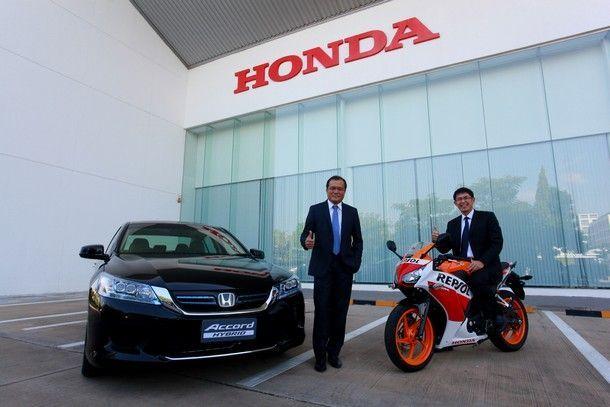 Honda แบรนด์อันดับ 1 ในประเทศไทย  จากผลการสำรวจ Brand Asia 2014