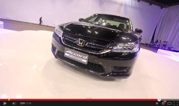 ชมวีดีโองานเปิดตัว Honda Accord Hybrid มิดไซส์ซีดานลูกผสม