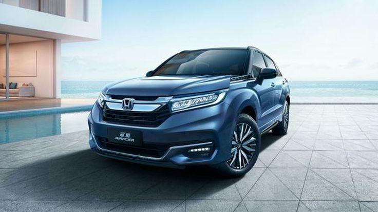 Honda Avancier Minorchange SUV รุ่นพี่ CR-V (เฉพาะตลาดจีน)