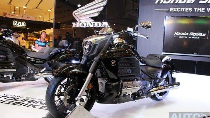Honda Bigbike เปิดตัวรถใหม่ 3 รุ่น ในงาน BMF 2014