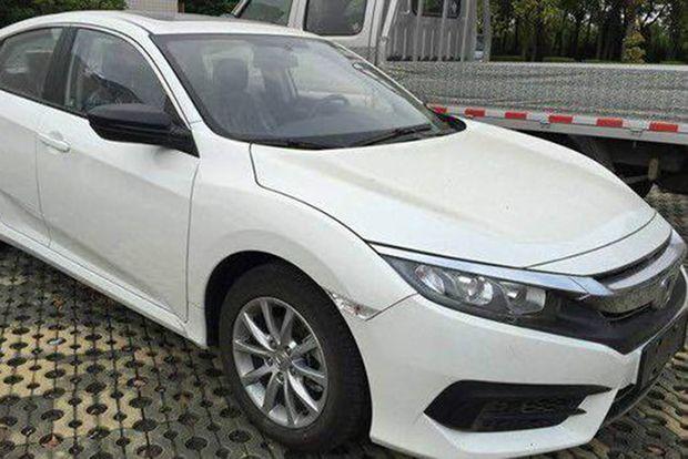 สปายช็อต Honda Civic ขุมพลัง 1.0 ลิตร VTEC Turbo เตรียมทำตลาดจีน