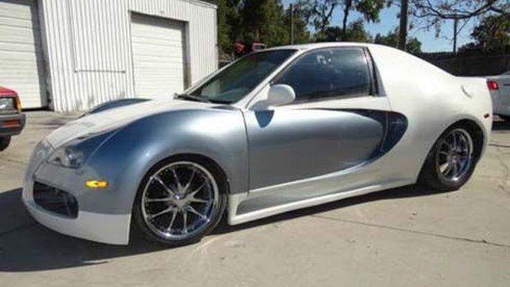 ชุดแต่งแปลงโฉม Honda Civic Coupe ให้กลายเป็น Bugatti Veyron 16.4
