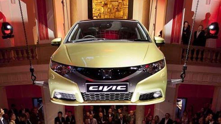 All-New Honda Civic Hatchback 2012 เปิดตัวอลังการงานสร้างที่ IAA 2011