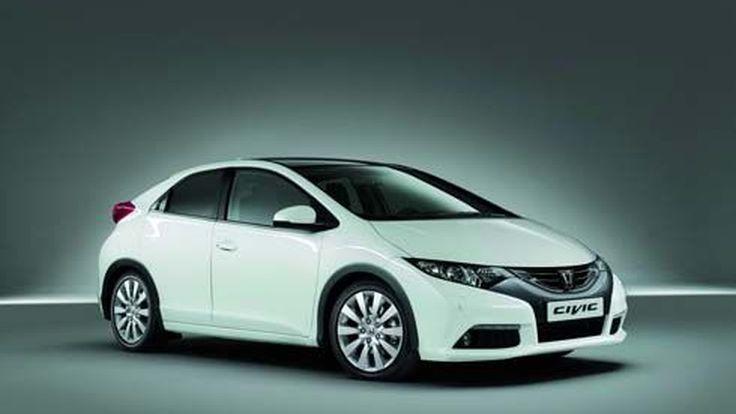 เนียนตา! Honda Civic Hatchback โมเดลเชนจ์ ปี 2012 พร้อมบุกยุโรปต้นปีหน้า