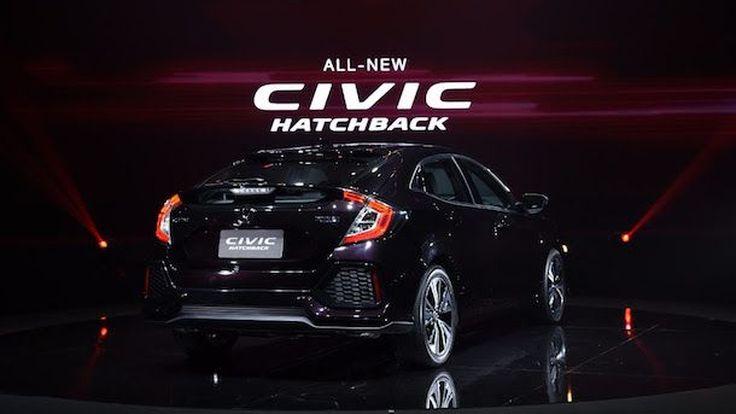 Honda Civic Hatchback ตัวโปรโตไทพ์ โชว์ตัวที่นิวยอร์ก