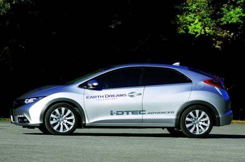 ใหม่ Honda Civic i-DTEC 1.6 Hatchback พร้อมออกลุยตลาดยุโรป