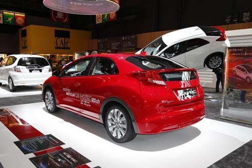 Honda ปล่อยทีเซอร์ Civic Station Wagon พร้อมรุ่นดีเซล 1.6 ลิตรที่ปารีส