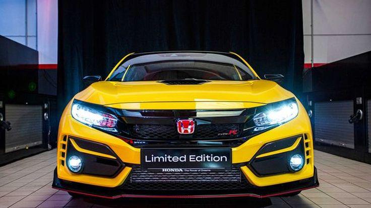 Honda Civic Type R 2021 Limited Edition สีพิเศษเพียง100 คัน