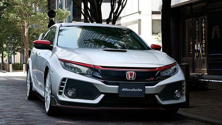 กรี๊ดเลย! Honda นำเสนออุปกรณ์ตกแต่งเสริมความหล่อ Civic Type R