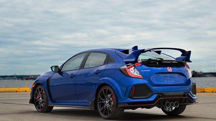 Honda เปิดประมูล Civic Type R คันแรกในอเมริกา