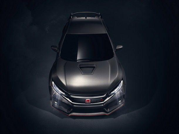 เจอกันแน่นอน !! Honda Civic Type R รุ่นขายจริงในงาน Geneva Motor Show 2017