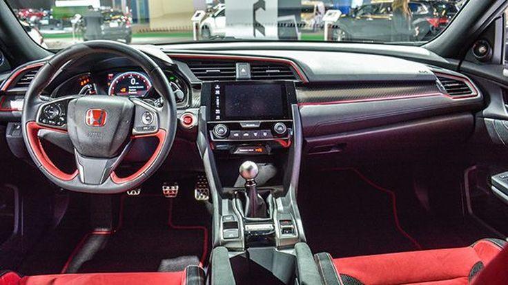 ชมห้องโดยสารสุดสปอร์ต Honda Civic Type R เน้นสีแดงแรงฤทธิ์