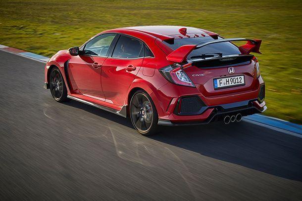 Honda ชี้เกียร์อัตโนมัติมีน้ำหนักมากเกินไปสำหรับ Civic Type R