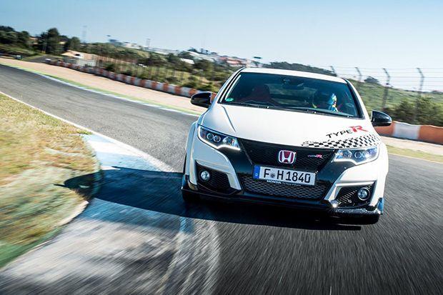 ของเขาแรงจริง Honda Civic Type R สร้างสถิติใน 5 สนามแข่งยุโรป