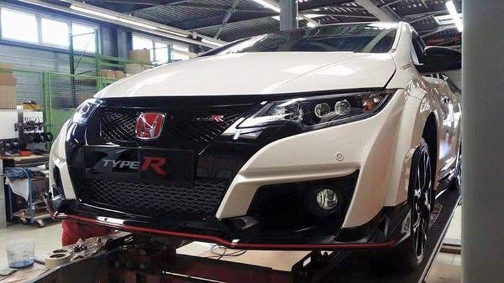 นับถอยหลัง Honda Civic Type R เตรียมเผยโฉมตัวจริง