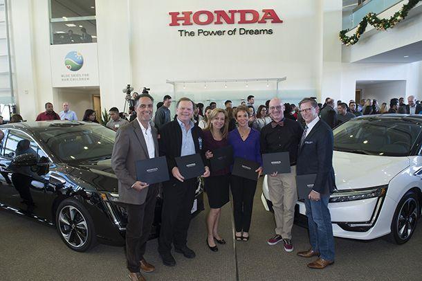 Honda ส่งมอบล็อตแรก Clarity รถไฮโดรเจนฟิวเซล