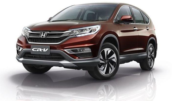Honda แนะนำ CR-V ไมเนอร์เชนจ์ ขุมพลัง Earth Dream 2.4 ลิตรรุ่นใหม่