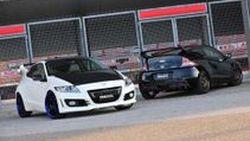 Honda CR-Z สปอร์ตไฮบริดแต่งหล่อรับปีใหม่ ผลงานชิ้นล่าสุดจากสำนักแต่งญี่ปุ่น Noblesse