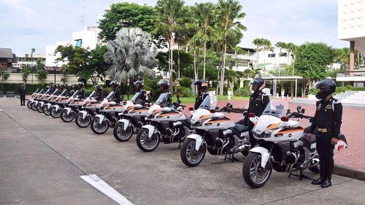 อย่างเท่ กองพันทหารสารวัตรถอย Honda CTX1300 ใหม่เอี่ยมเป็นรถนำ-ตามขบวน