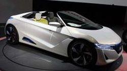 Honda EV-STER Concept โรดสเตอร์พลังไฟฟ้าที่งาน Tokyo Motor Show