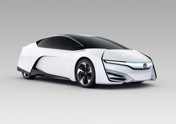 หลุดจากโลกอนาคต Honda FCEV รถต้นแบบพลังไฮโดรเจน