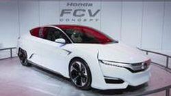 Honda FCV Concept  ต้นแบบ Fuel Cell เผยโฉม ที่งาน Detroit Auto Show 2015