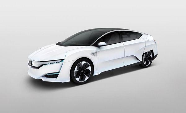 Honda FCV รถต้นแบบไฮโดรเจนเปิดตัวในญี่ปุ่น เตรียมขายจริงปี 2016