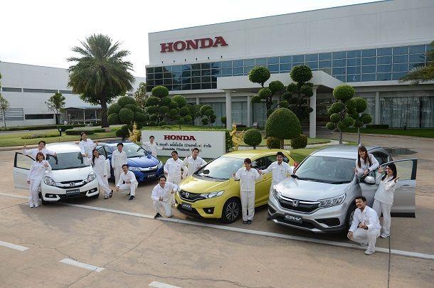 รถยนต์ของฮอนด้าที่ผลิตในไทยเป็นรายเดียวได้รับฉลากเขียวทุกรุ่น ตอบรับพันธสัญญาด้านสิ่งแวดล้อม