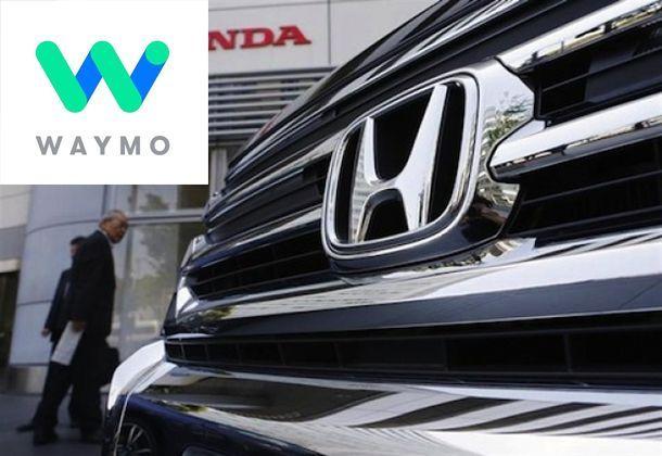 Honda หารือ Google ร่วมกันพัฒนาเทคโนโลยีขับขี่อัตโนมัติ